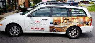 Elite Countertops Vehicle
