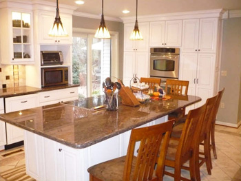 custom cabinets granite countertops fairfax manassas stafford elite countertops llc custom fabrication and of granite - Kitchen Island Countertop